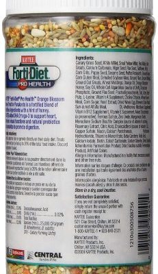 Kaytee Forti Diet Pro Health Orange Blossom Honey Bird Treats for ...